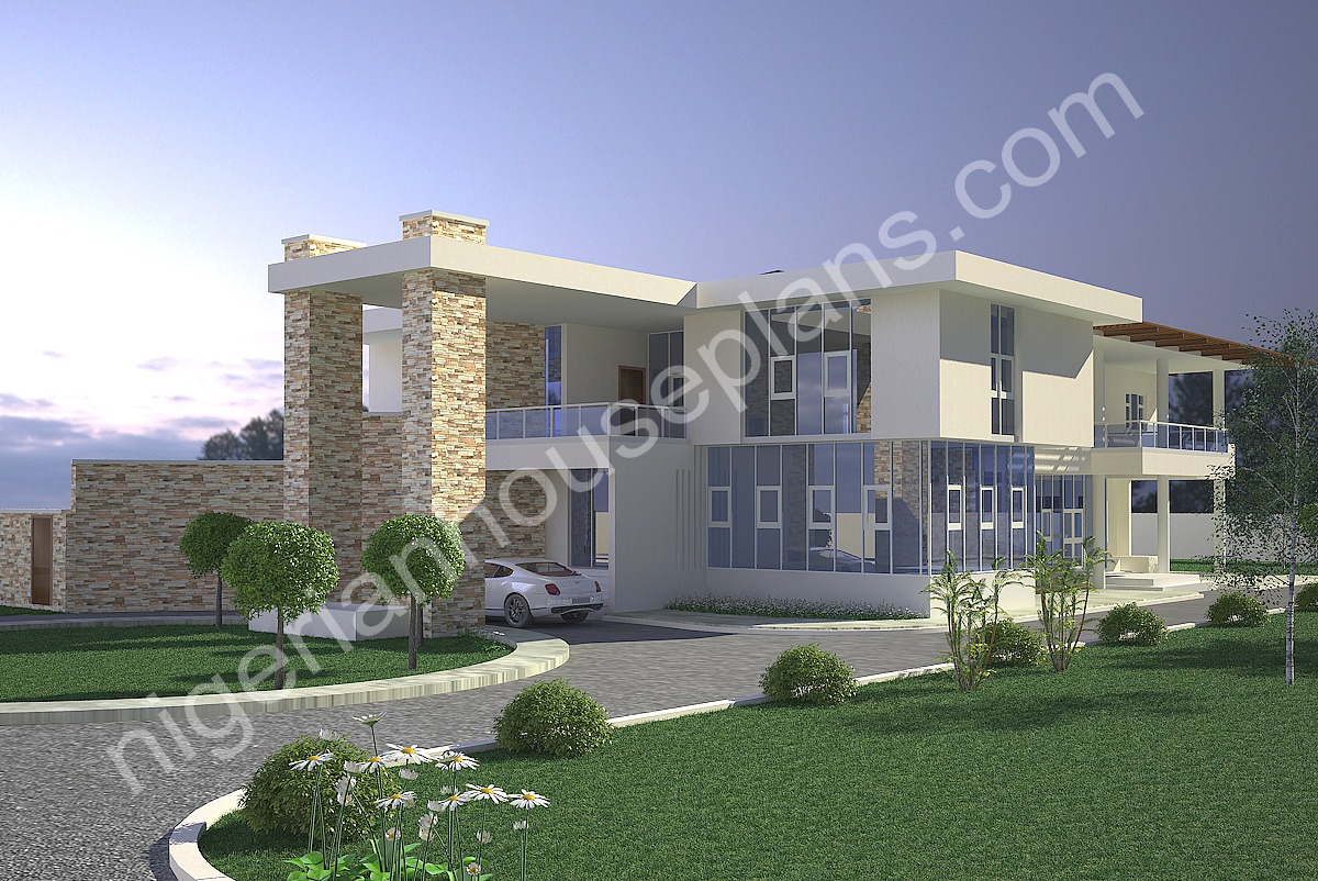 Nigerianhouseplans your one stop building project for 5 bedroom duplex