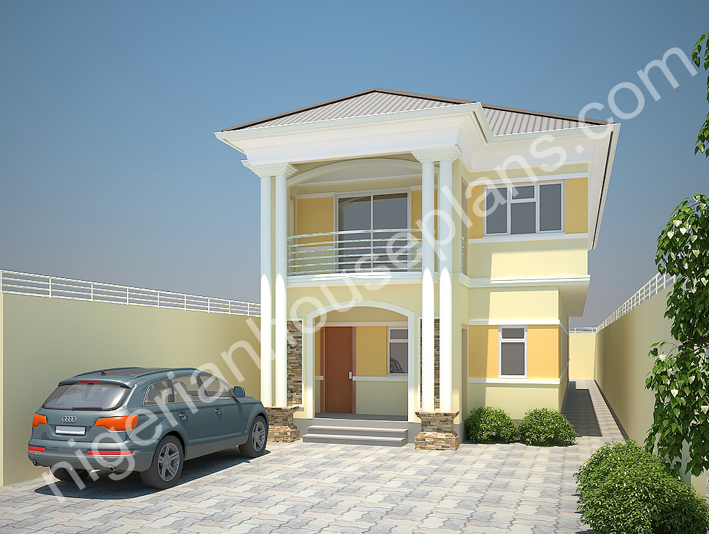 Nigerianhouseplans your one stop building project for 4 bedroom duplex floor plans