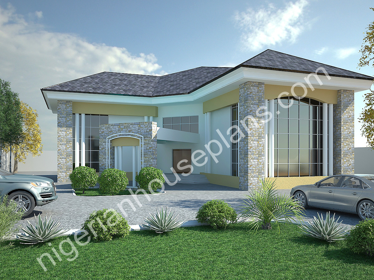 5 bedroom duplex ref nos 5017 nigerianhouseplans for 5 bedroom duplex