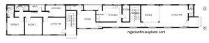 4 bedroom duplex _2 bedroom flats first floor
