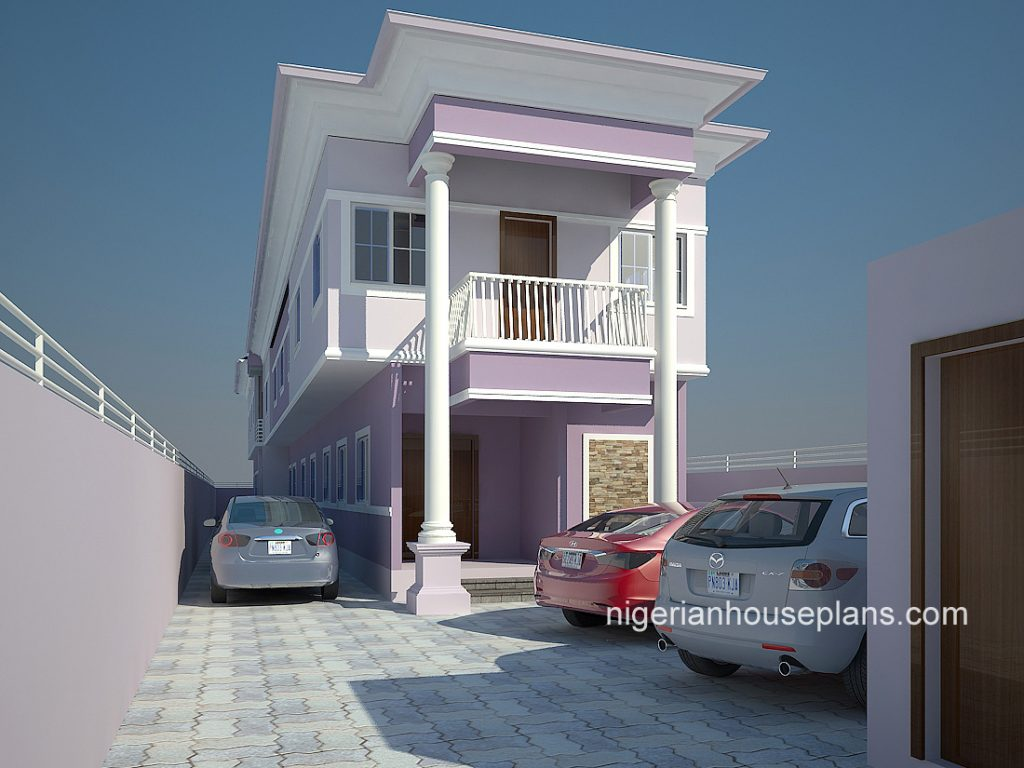 Nigerian house plans archives nigerianhouseplans for Duplex bed