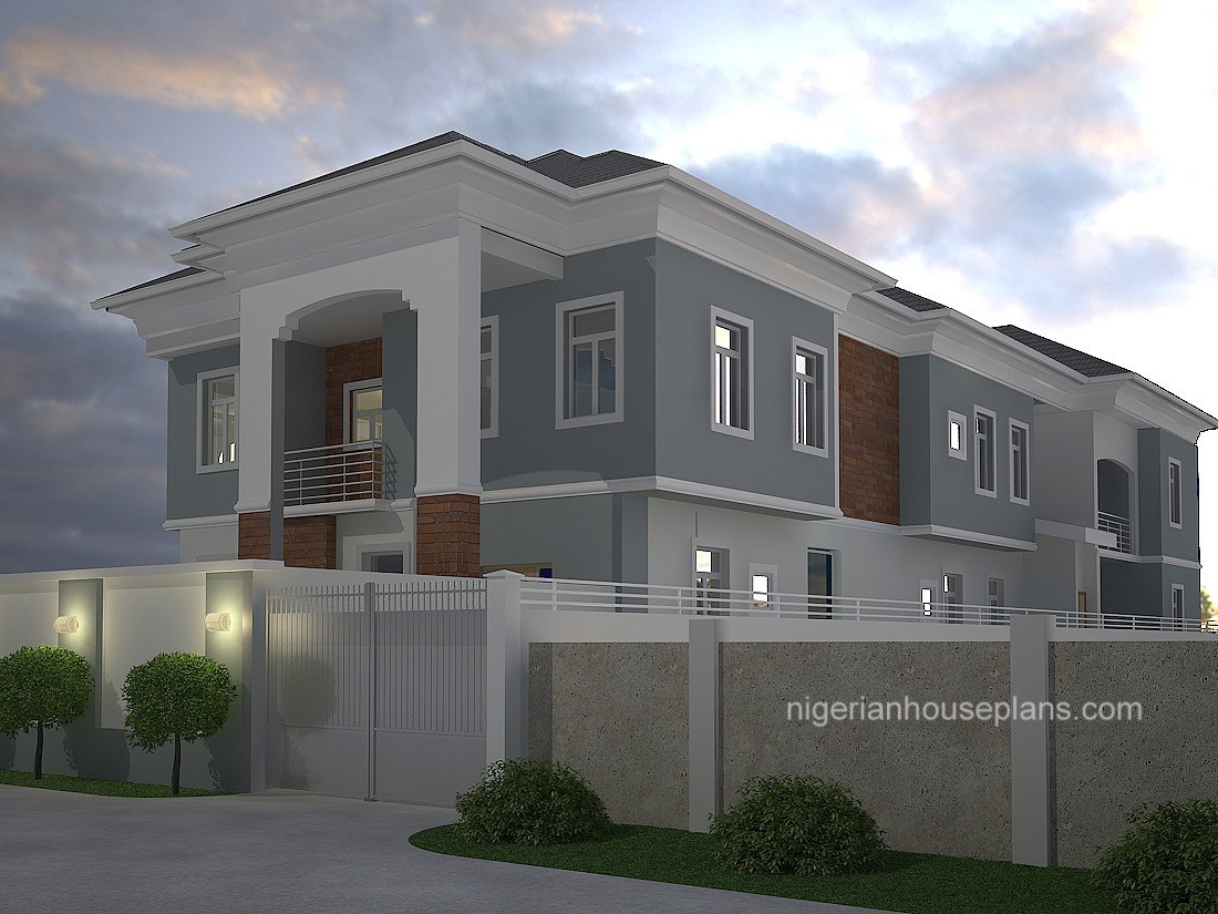 Cost of building 4 bedroom duplex autos post for Duplex plans with cost to build