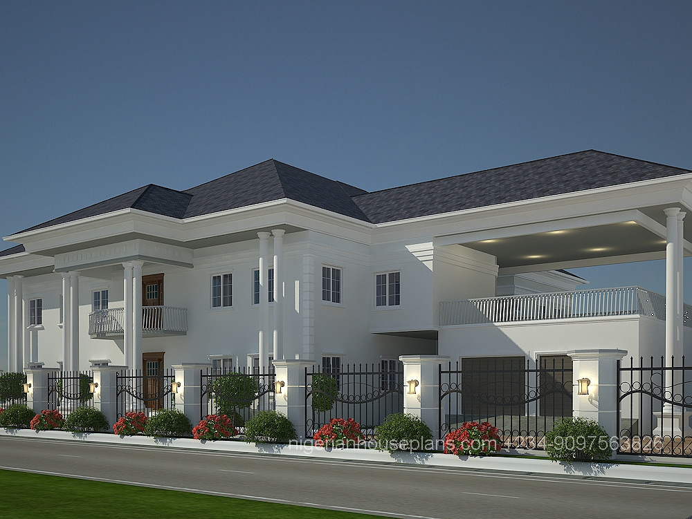 Dr peter 39 s house nigerianhouseplans 6 bedroom duplex house plans
