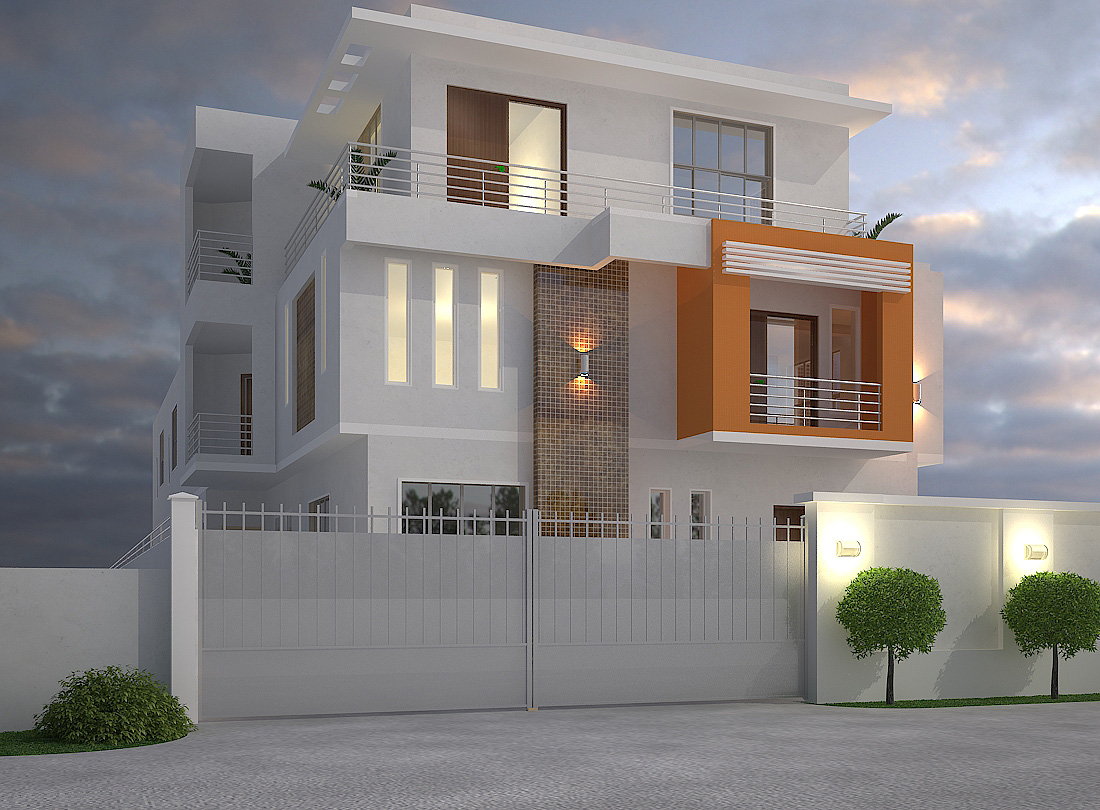Nigerian house plans archives nigerianhouseplans for 5 bedroom duplex