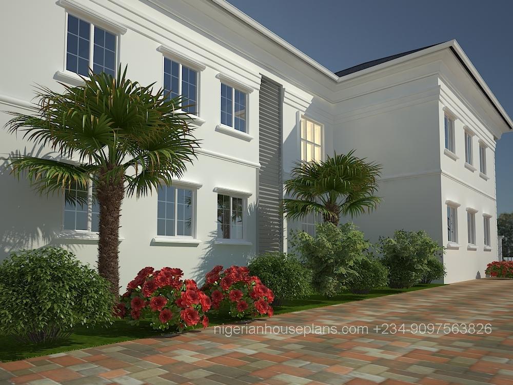Dr peter 39 s house nigerianhouseplans for 6 bedroom duplex