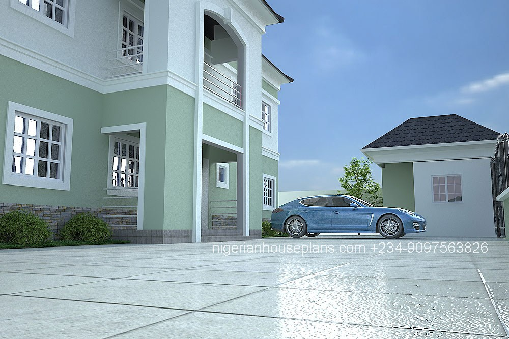 5 Bedroom Duplex Ref 5025 Nigerianhouseplans