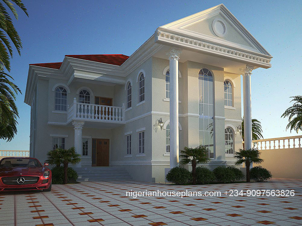 Pictures of house plans in nigeria for Nigeria building plans and designs