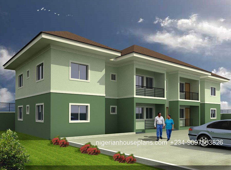 nigerian-house-plans-simple-block-of-flats