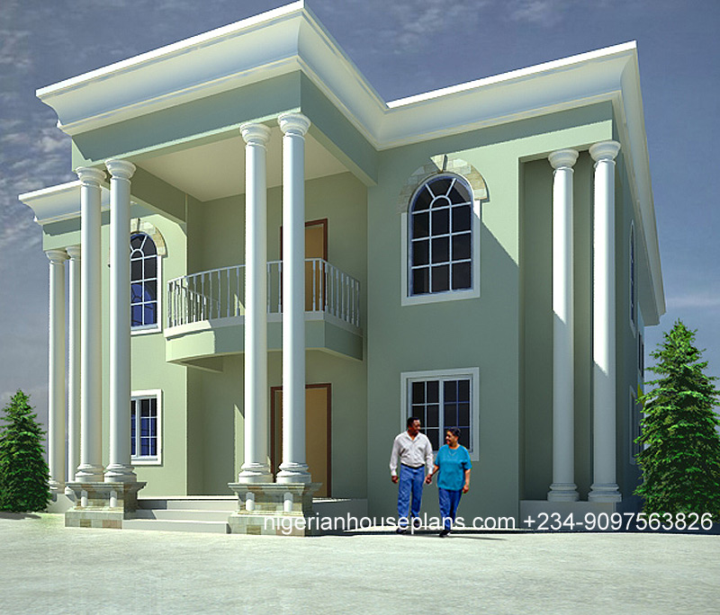 5 bedroom duplex nigerianhouseplans for 5 bedroom duplex