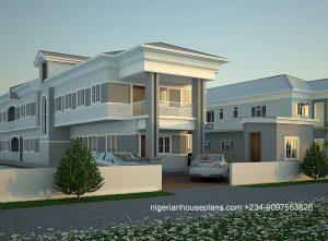 nigeria,house,plan,home, 4 bedroom,duplex