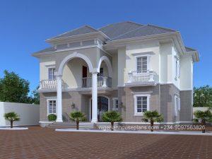 nigeria,house,plan,home,building,design,5 bedroom,apartment