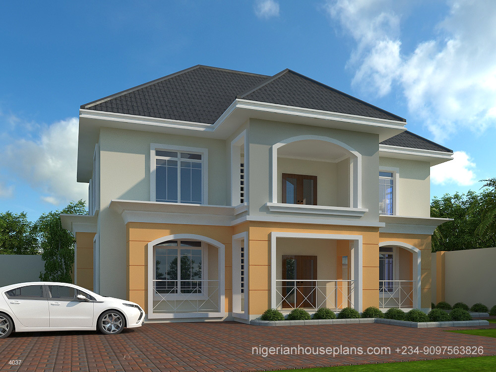 4 Bedroom Duplex (Ref: 4037) · Nigeria,house,plan ...