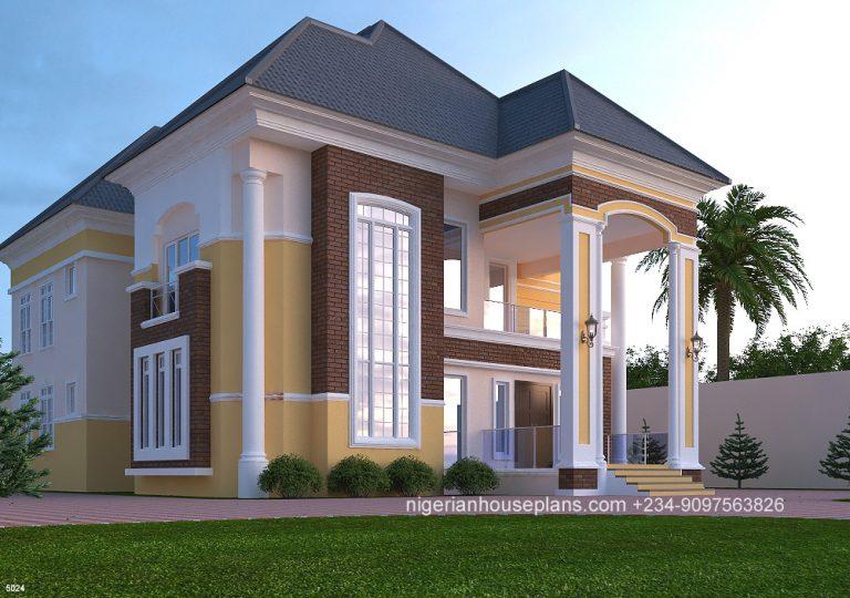 5 Bedroom Duplex Ref 5024 Nigerianhouseplans