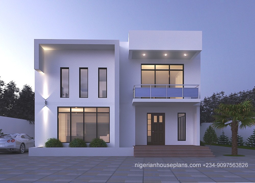 modern,contemporary,nigeria,house,design